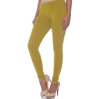Jelite Womens Leggings-Ankle Length-Mango