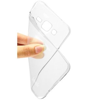 BigZee Back Cover for Micromax Yu Yureka Plus (Soft Silicon Transparent TPU)