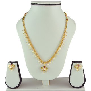 Women's Trendz Alloy Necklace And Earrings Set High-Class