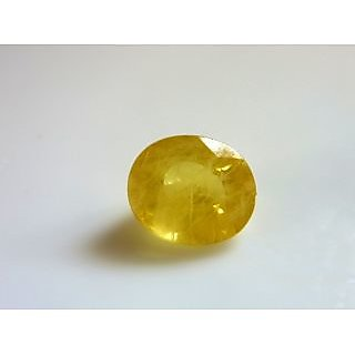 Jaipur Gemstone 5.25 CRT Yellow Sphhire (SUGGESTED) Yellow