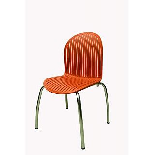 MAVI ATTRACTIVE CAFE CHAIR IN ORANGE-DRC-745