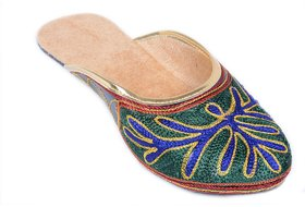 TACTIC Women's Multicolor Ethnic Flats