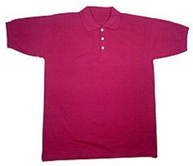 PAN AMERICA Mens Formal mahroon   T-Shirt