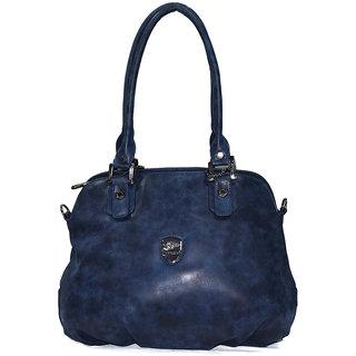 Moochies Ladies Leatherette Purse,Color-Blue