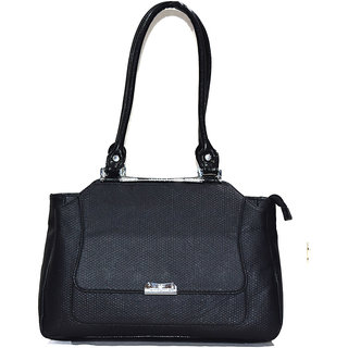 Moochies Ladies Leatherette Purse,Color-Black