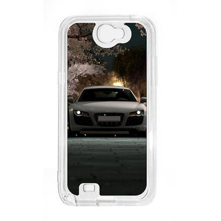Anger Beast`s Designer Back Cover ( Transparent ) for Samsung Galaxy Note 2 SG_N2_381