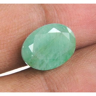5.7 Ratti (5.19 Ct.)  Certified Oval Shape Natural Emerald (Panna) Gemstone