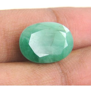 9.21 Ratti (8.38 Ct.)  Certified Oval Shape Natural Emerald (Panna) Gemstone
