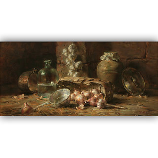 Vitalwalls Still Life Painting Canvas Art Print.Static-231-30cm