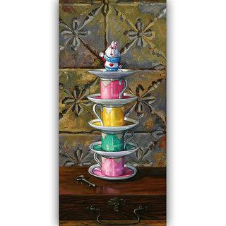 Vitalwalls Still Life Painting  Canvas Art Print.Static-393-60cm