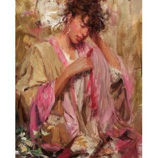 Vitalwalls Still Life Painting  Canvas Art Print,Wooden Frame.Western-045-F-30cm