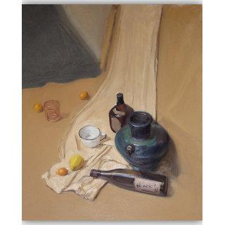 Vitalwalls Still Life Painting Canvas Art Print.Static-233-60cm