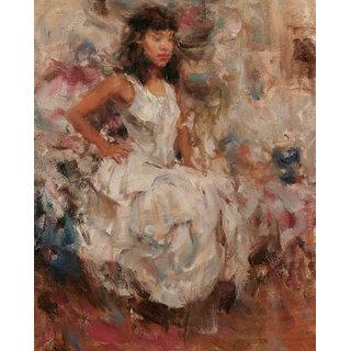 Vitalwalls Still Life Painting  Canvas Art Print.Western-048-30cm