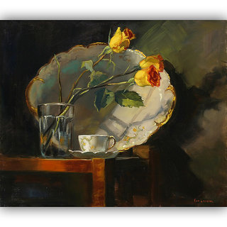 Vitalwalls Still Life Painting  Canvas Art Print.Static-406-60cm