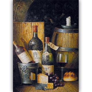 Vitalwalls Still Life Painting  Canvas Art Print,Wooden Frame.Static-408-F-45cm