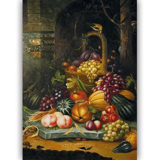 Vitalwalls Still Life Painting  Canvas Art Print.Static-409-30cm