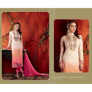 Kimora Heer Volume 7 Pink Color Suit (semisticthed)
