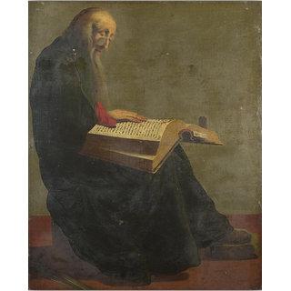 Vitalwalls Portrait Painting Canvas Art Print. Religion-353-60cm