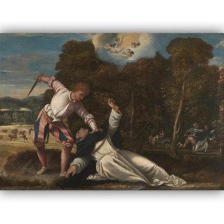 Vitalwalls Portrait Painting Canvas Art Print. Religion-354-30cm