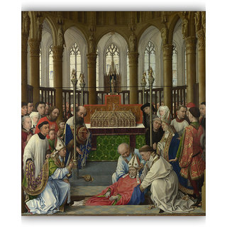 Vitalwalls Portrait Painting Canvas Art Print. Religion-355-45cm