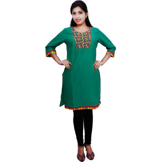 Thraya Womens  Cambric  Fashion Kurtas