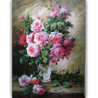 Vitalwalls Still Life Painting Canvas Art Print.Static-092-60cm
