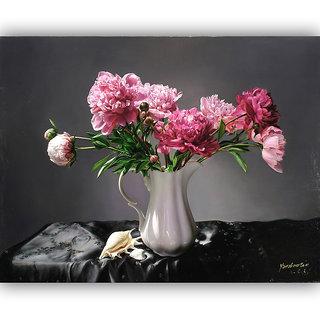 Vitalwalls Still Life Painting Canvas Art Print.Static-217-60 cm