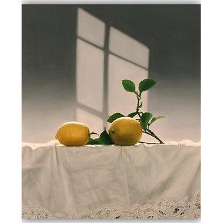 Vitalwalls Still Life Painting Canvas Art Print,Wooden Frame.Static-316-F-45cm