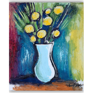 Vitalwalls Still Life Painting Canvas Art Print,Wooden Frame.Static-322-F-30cm