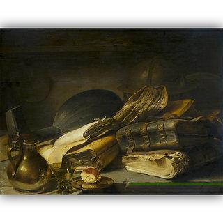 Vitalwalls Still Life Painting Canvas Art Print.Static-323-60cm