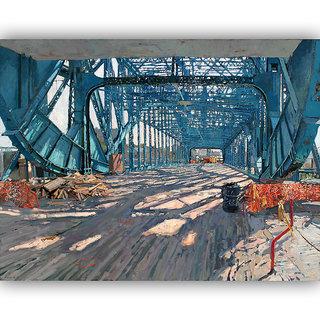 Vitalwalls Still Life Painting  Canvas Art Print,Wooden Frame.Static-446-F-45cm