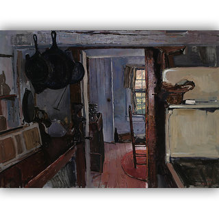 Vitalwalls Still Life Painting Canvas Art Print.Static-126-45cm