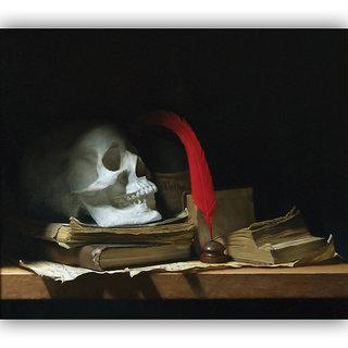 Vitalwalls Still Life Painting  Canvas Art Print,Wooden Frame.Static-424-F-60cm