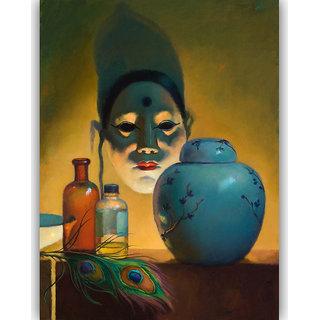 Vitalwalls Still Life Painting  Canvas Art Print.Static-425-60cm