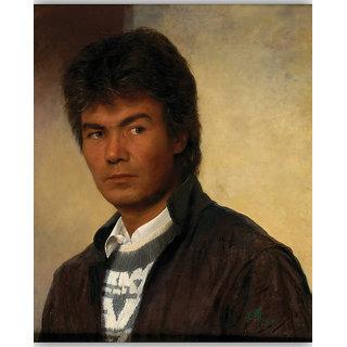 Vitalwalls Portrait Painting Canvas Art Print,on Wooden FrameWestern-417-F-45cm