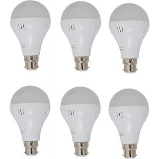 5W LED BULB PACK OF 6 PIECES