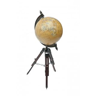LightenUP Tabletop Globe (Brown)