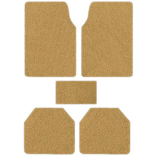 Takecare Beige Anti Slip Noodle Car Floor Mat For Maruti Ertiga