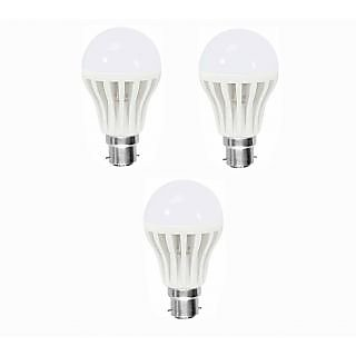 LED BULB 7W BRIGHT WHITE LIGHT LED BULB SAVING ENERGY (set of 3) Product ID  44