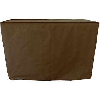 Dream Care Coffee Color AC Cover for Split Outdoor Unit 1.0 Ton