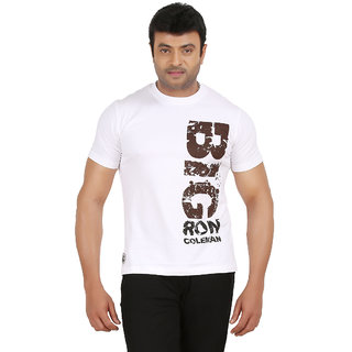 Ronnie Coleman Men White Tshirts
