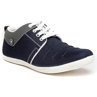 buy dox men's blue casual shoes online  ₹499 from shopclues