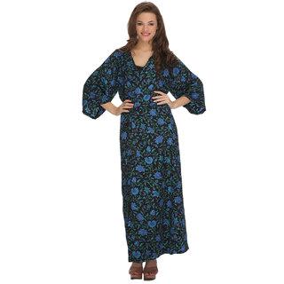 Clovia Long Robe Printed
