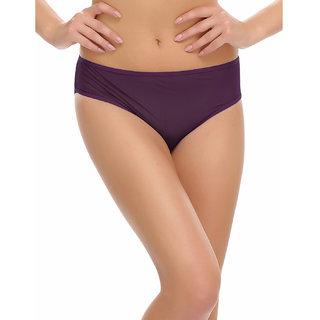 Clovia Fashionable Brief In Purple