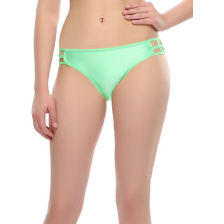 Clovia Bond Girl Brief In Sea Green