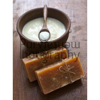 Beautiful Garden - YOGURT SOAP(100 Chemical-free,Herbal,Cold Process)