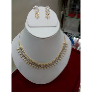 Designer AD necklace set