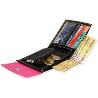 Chhavi Pink Black Women Wallet