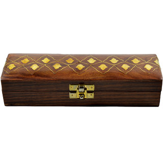 Craftuno Handcrafted Wooden Chain Box(40610)