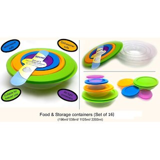 IDeals -CONTAINER SET OF 16 Pcs (4 Sets Of 4)